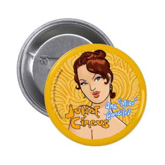 Juliet Circus - Ana Miau Gonzalez 6 Cm Round Badge