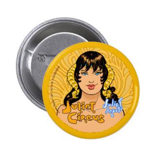 Juliet Circus - Juliet Arguti 6 Cm Round Badge