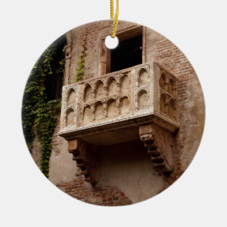 Juliet's Balcony Ceramic Ornament