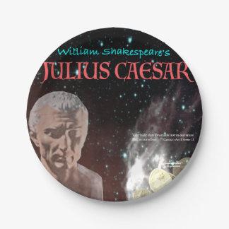 Julius Caesar 7 Inch Paper Plate