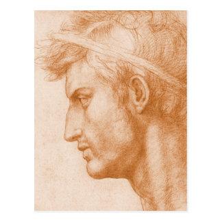 Julius Caesar by Andrea del Sarto Postcard