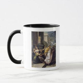 Julius Caesar  on his way to the Senate Mug