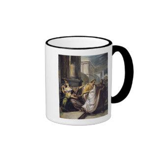 Julius Caesar  on his way to the Senate Coffee Mug