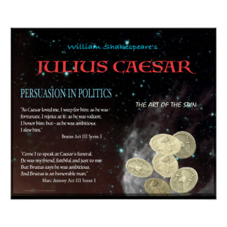 julius caeser and persuasion Free essay: marc antony's power of persuasion in julius caesar in william shakespeare's julius caesar, although marc antony is allowed to make a speech at.