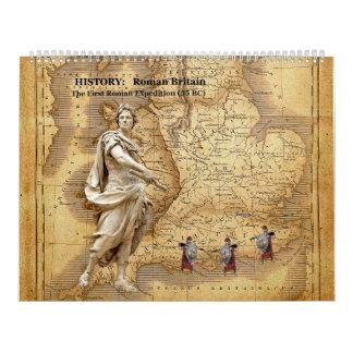 Julius Ceasar first time in england calendar