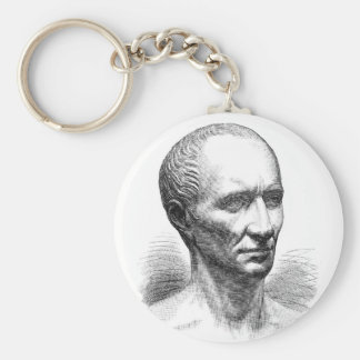 Julius Ceaser Basic Round Button Key Ring