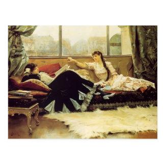 Julius Stewart-Sarah Bernhardt & Christine Nilsson Postcard