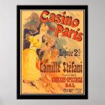 Julus Cheret Casino De Paris Print Posters