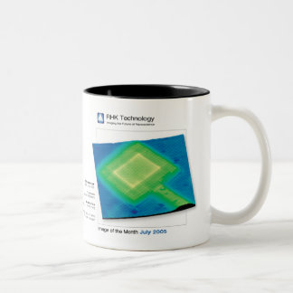 July 2005 - RHK Technology: Image of the Month Two-Tone Coffee Mug