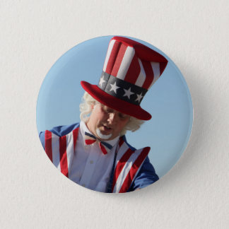 July-4th 6 Cm Round Badge