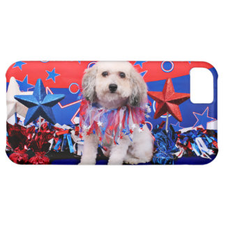 July 4th - Bichon Frise X - Macy Cover For iPhone 5C