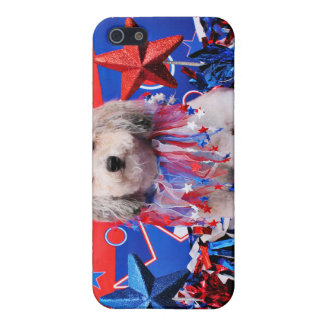 July 4th - Bichon Frise X - Macy iPhone 5 Case
