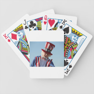 July-4th Bicycle Playing Cards