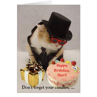 July 4th Birthday Card