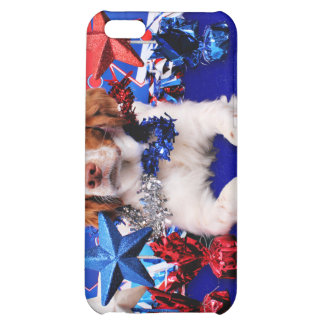 July 4th - Brittany Spaniel - Charlie iPhone 5C Case