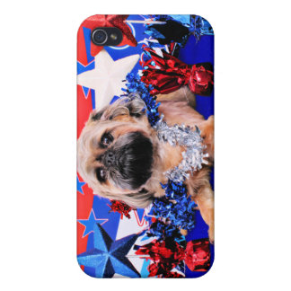 July 4th - Brussels Griffon - Oliver iPhone 4 Cases