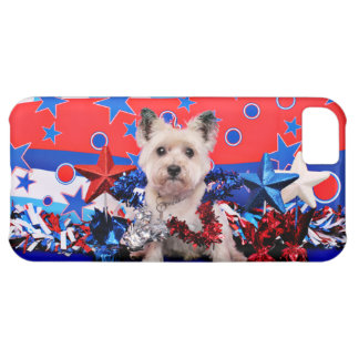 July 4th - Cairn Terrier - Roxy iPhone 5C Cover