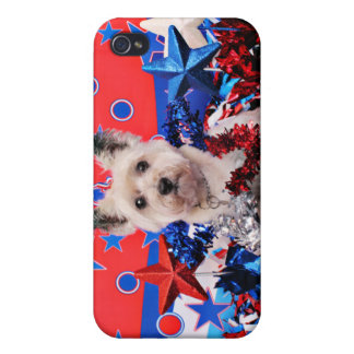July 4th - Cairn Terrier - Roxy iPhone 4/4S Cover