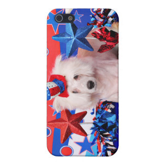 July 4th - Chinese Crested - Dash Cover For iPhone 5