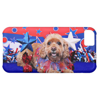 July 4th - Cockapoo - Sophie Cover For iPhone 5C
