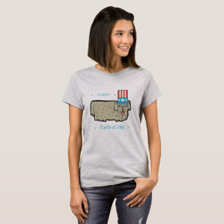 July 4th Dog Lover Funny Shirt HAPPY FURTH OF JULY