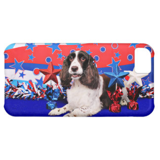 July 4th - English Springer Spaniel - Chloe Case For iPhone 5C