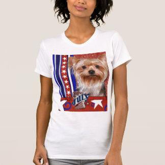 July 4th Firecracker - Yorkshire Terrier T-Shirt