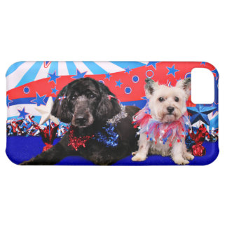 July 4th - GoldenDoodle Abby - Cairn Roxy iPhone 5C Cases