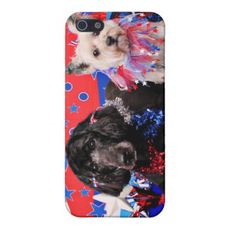 July 4th - GoldenDoodle Abby - Cairn Roxy Case For iPhone 5