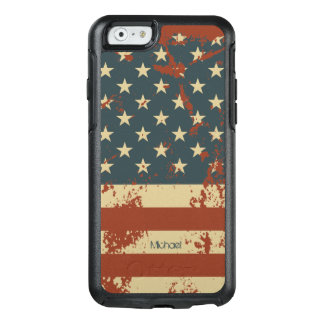July 4th Independence Day America Grunge Flag OtterBox iPhone 6/6s Case