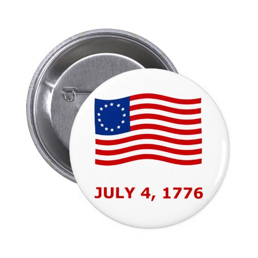 July 4th, Independence Day T-Shirts & Gifts Pinback Button