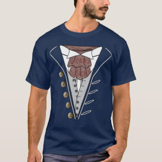 July 4th Independence Day Tuxedo Cravat T Shirt 3