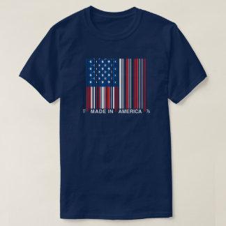 July 4th Made In America Bar Code Shirt