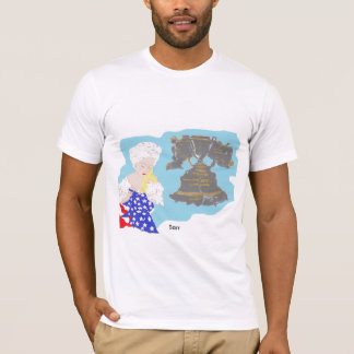 July 4TH Men's Basic American Apparel T-Shirt