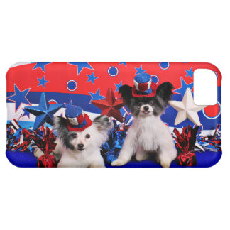 July 4th - Papillon - Franny and Bucky iPhone 5C Cases