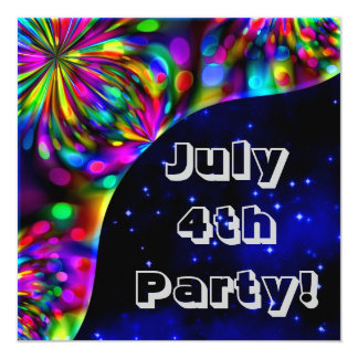 July 4th Party! Invitation