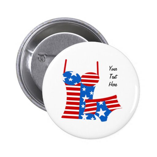 July 4th/Patriotic Pinback Buttons