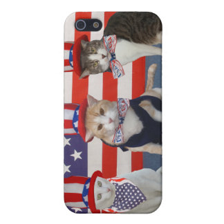 July 4th/Patriotic Cats/Kitties Cover For iPhone 5