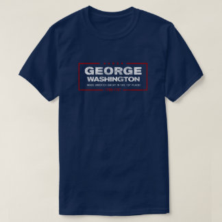 July 4th Patriotic Washington Distressed T-Shirt