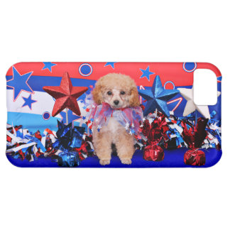 July 4th - Poodle - Lily Case For iPhone 5C