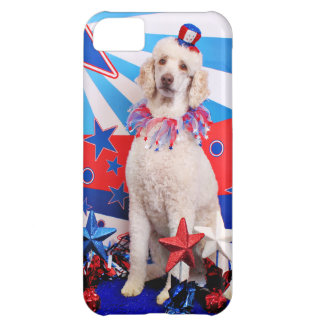 July 4th - Poodle - Lucy iPhone 5C Cases