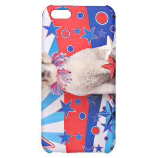 July 4th - Poodle - Lucy iPhone 5C Cover
