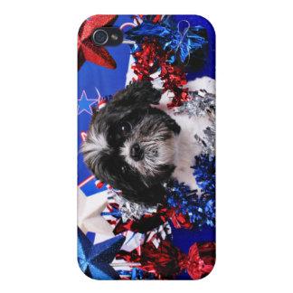 July 4th - Shih Tzu - Sadie iPhone 4/4S Case