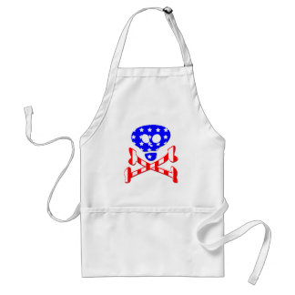July 4th Skull Crossbones Aprons