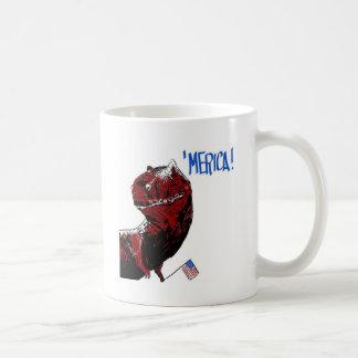 July 4th T Rex Coffee Mug