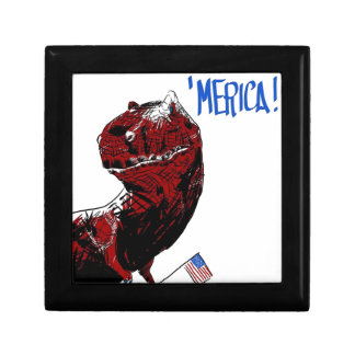 July 4th T Rex Gift Box