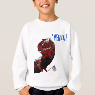 July 4th T Rex Sweatshirt