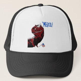 July 4th T Rex Trucker Hat