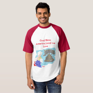 July 4TH -T- Shirt /God Bless America