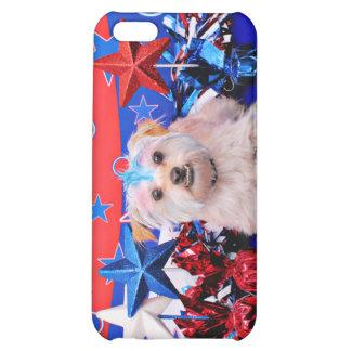 July 4th - Terrier X - Jango iPhone 5C Cases